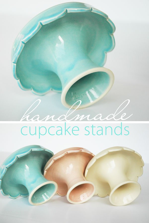 Handmade Cupcake Stands
