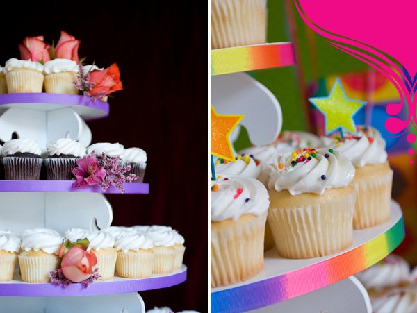 Cupcake Towers and Cake Pop Towers