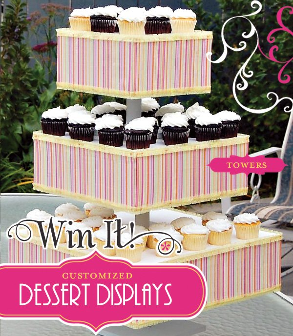 Custom Cupcake Towers