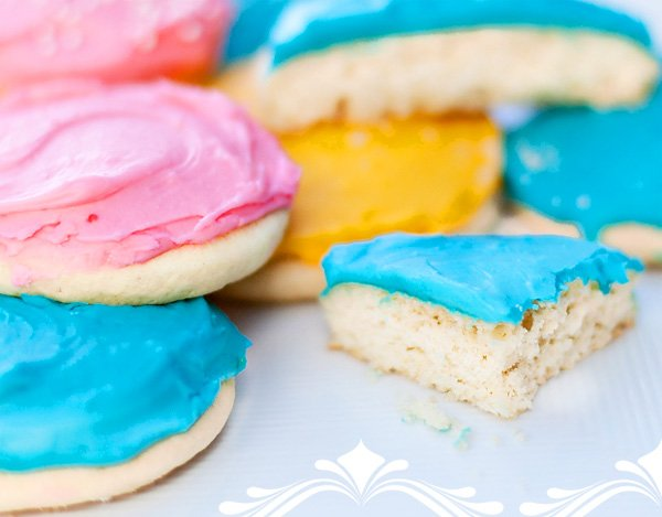 Frosted Sugar Cookie Recipe