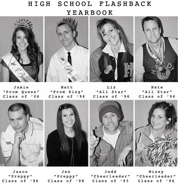highschoolpartyyearbookBandW