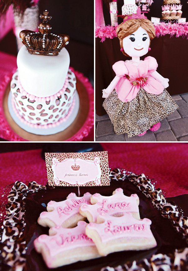Leopard Princess Birthday Party