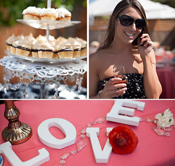 spring bridal shower cupcakes