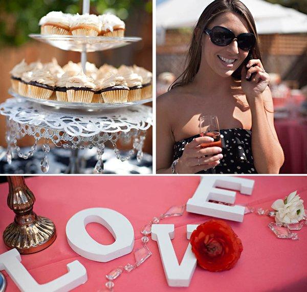 spring bridal shower cupcakes spring bling lollipop cake