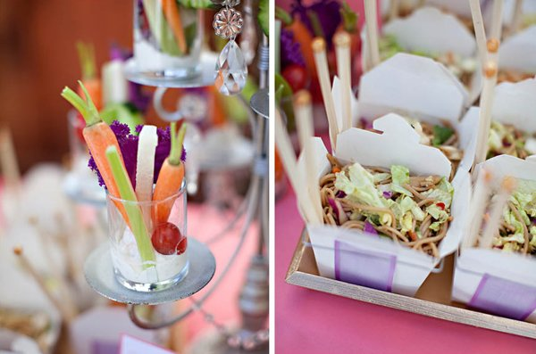 bridal shower appetizers and food