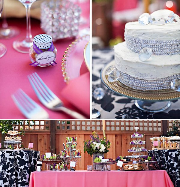 spring bling bridal shower 7