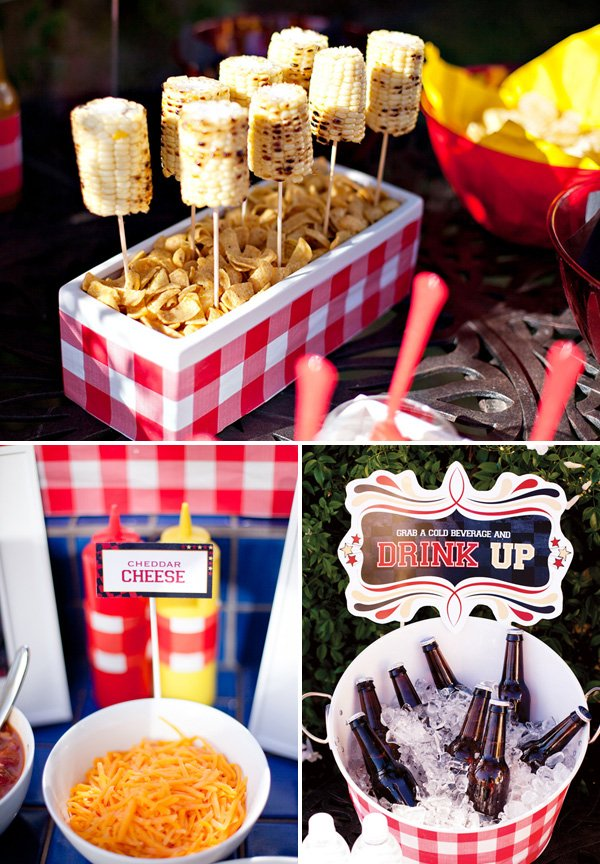 Summer BBQ Theme + Free Party Printables // Hostess with the Mostess®