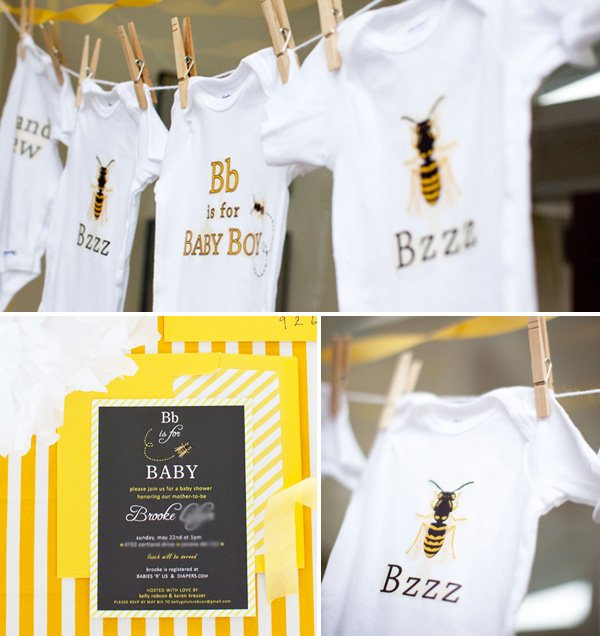 B is for Baby Shower Theme