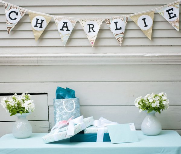 spring summer baby shower