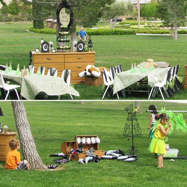 Finding Neverland Birthday Party