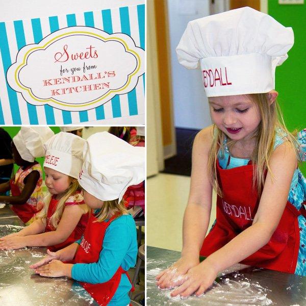 Baking Themed Birthday Party Ideas