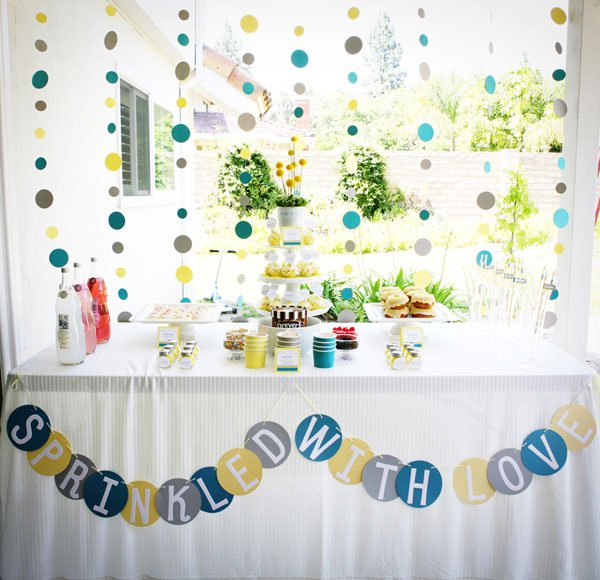 sprinkled with love a modern baby shower hostess with the mostess