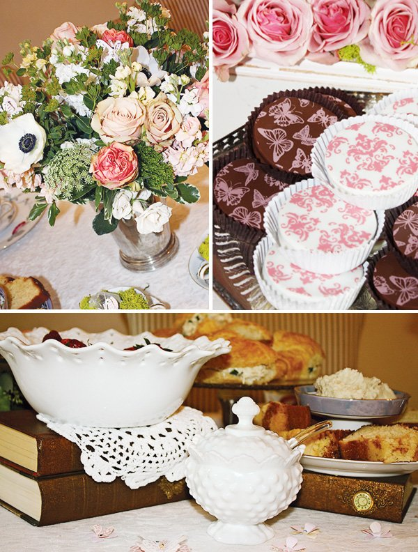 Cupcakes and Tea Baby Shower