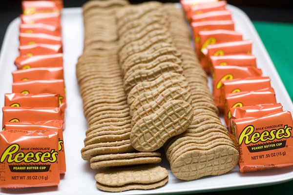 golf party peanut butter treats