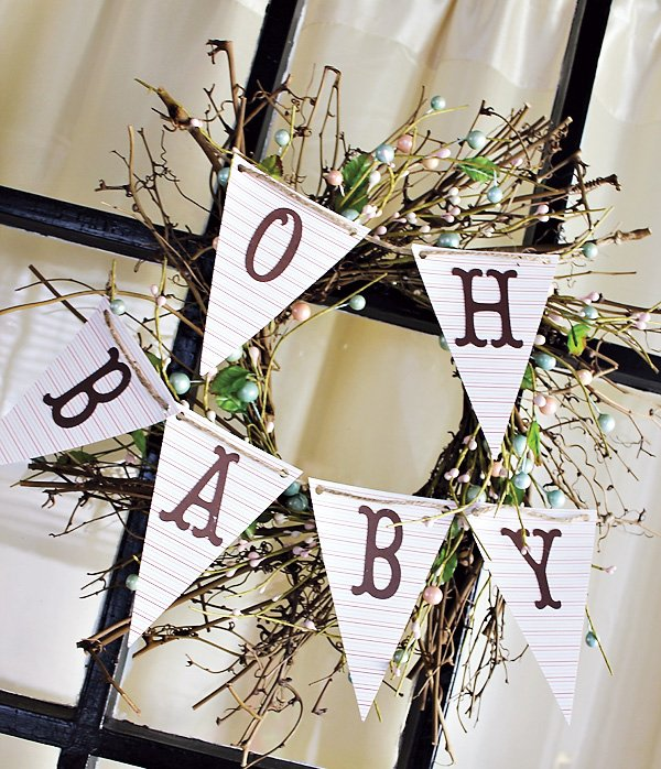 Happy Trails Spring Baby Shower