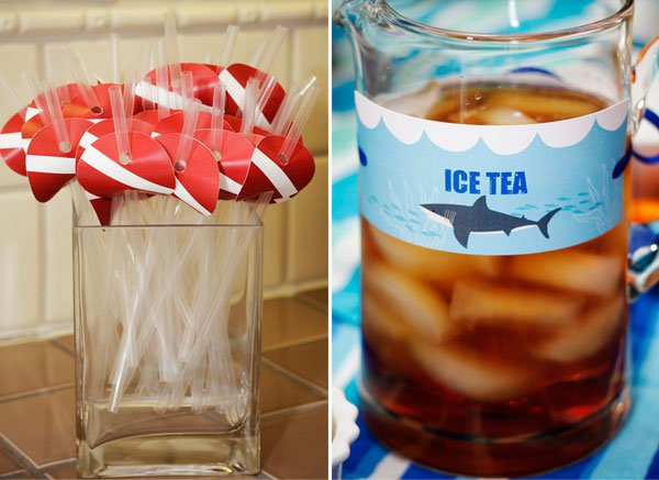 Scuba Straws and Shark Tea