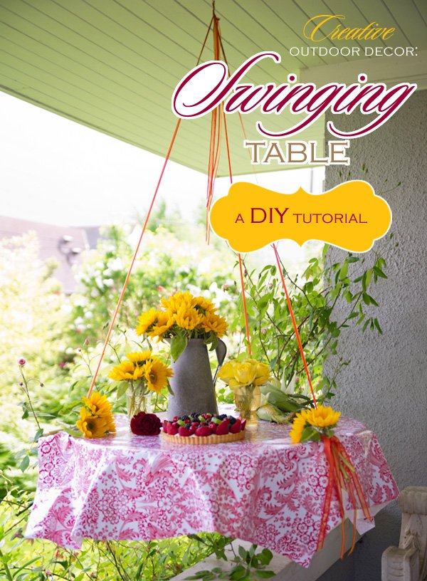 Swing Table Tutorial by Kim Foren