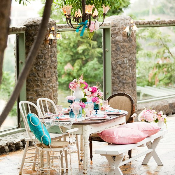 Vintage English Garden Wedding