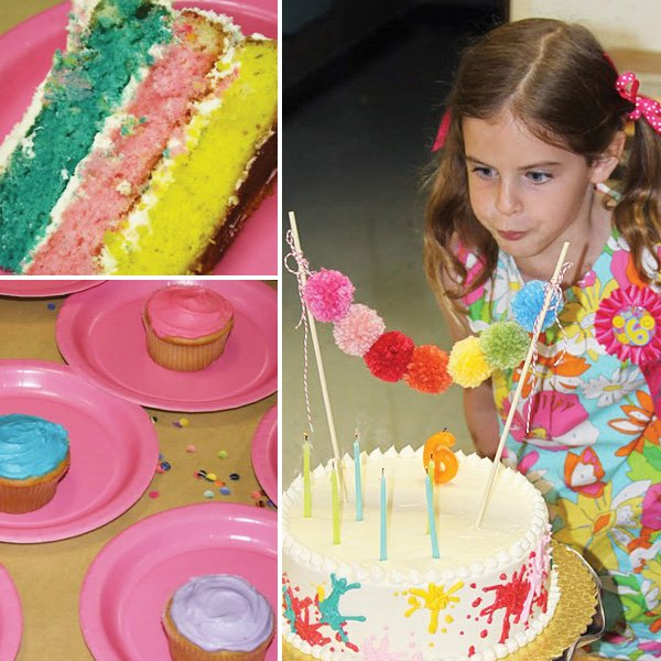 Art Inspired Birthday Party