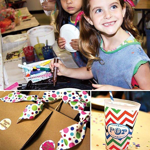 Art Inspired Birthday Party
