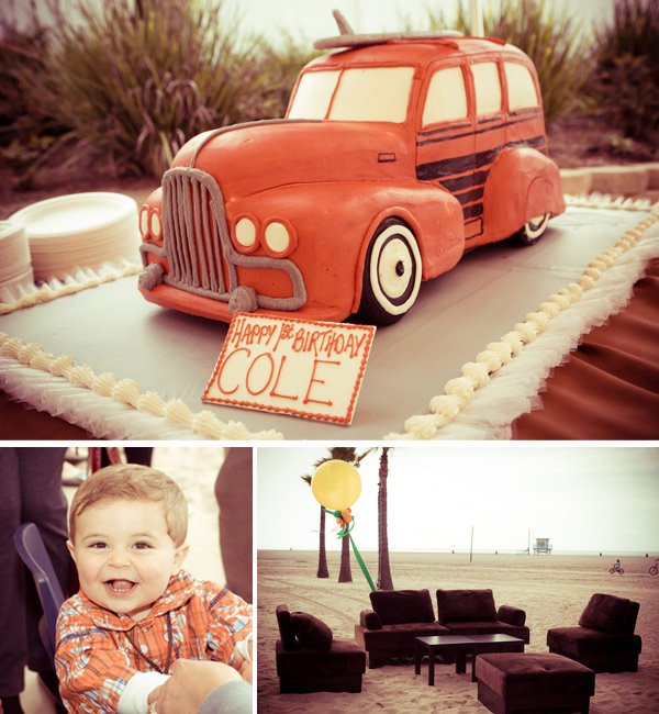 Beach Boys Inspired 1st Birthday Party // Hostess with the