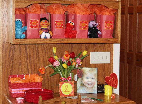 Elmo Birthday Party