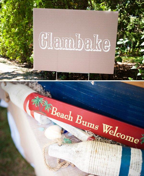 Nautical Clambake Party