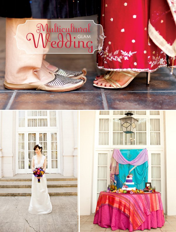 Multicultural Glam Wedding