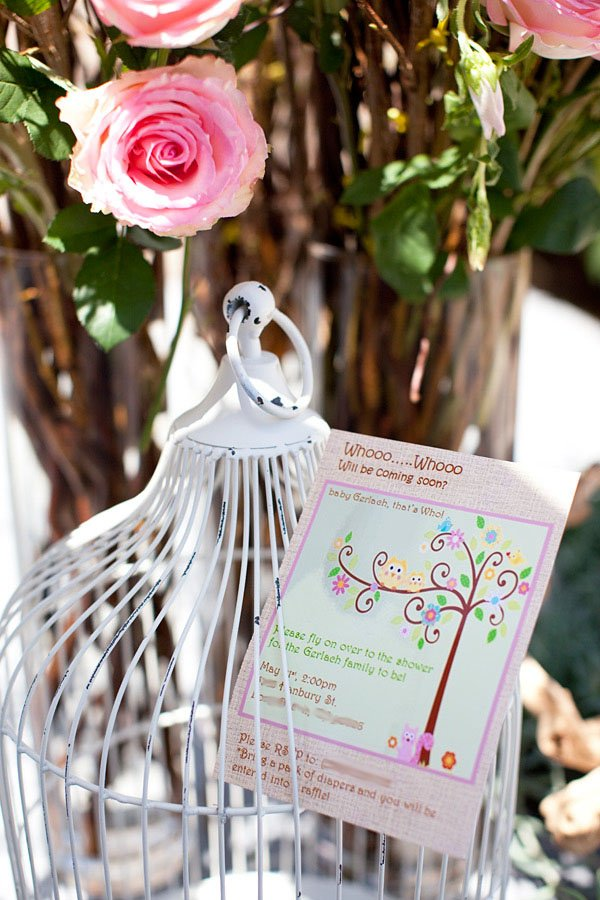 darling woodland owl baby shower girl hostess with the mostess