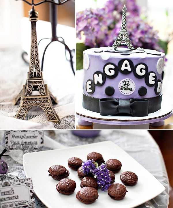 Paris Inspired Engagement Party