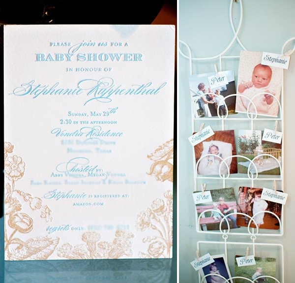 Vintage Bloom Baby Shower