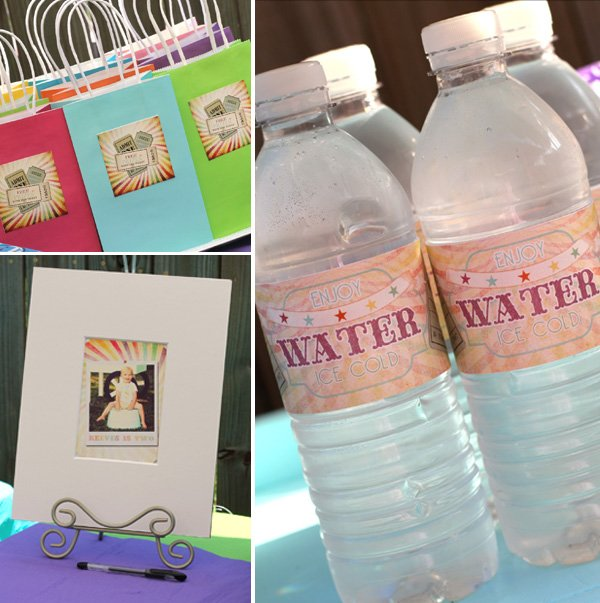 Bag Labels, Signing Mat, Water Bottle Labels