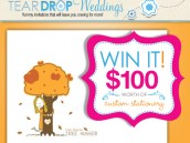 Teardrop Weddings Custom Stationery
