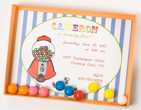 When and Where Custom Invitations
