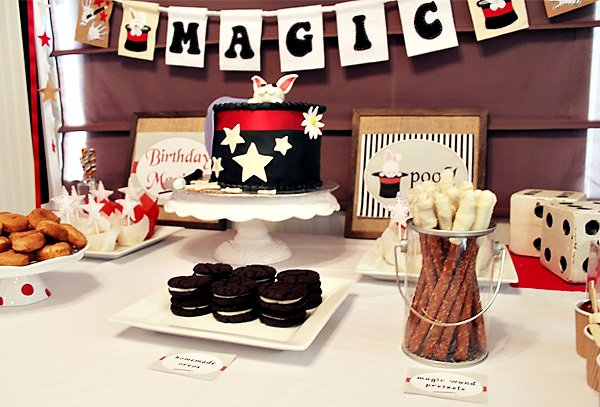 Magic Themed Kids Birthday Party