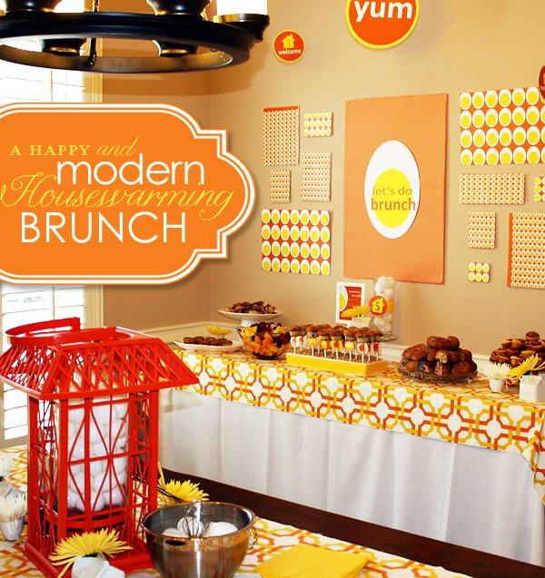 Modern Housewarming Brunch