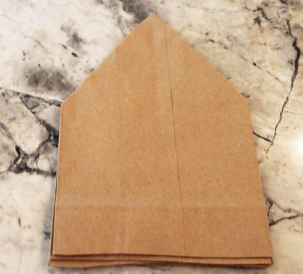 Brown Paper Bag Star Tutorial
