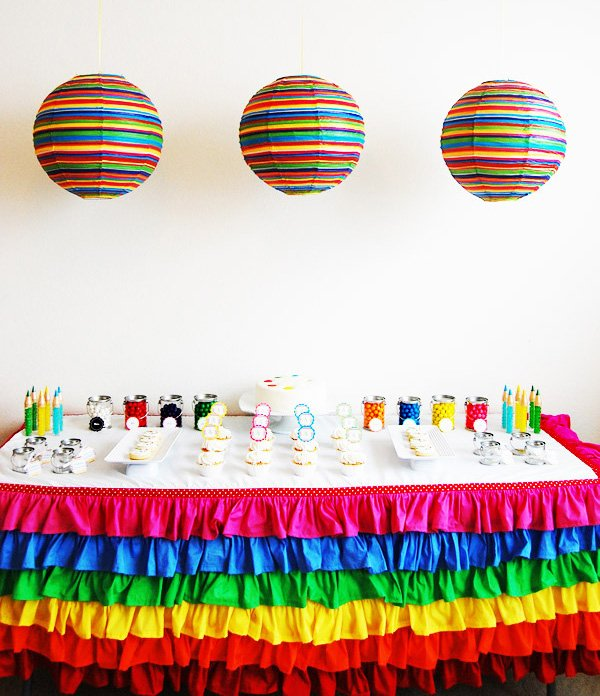 Picasso Art Birthday Party