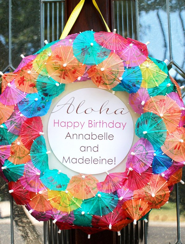 Aloha Luau Birthday Party