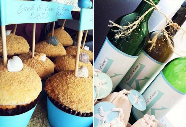 Beach Wedding or Bridal Shower