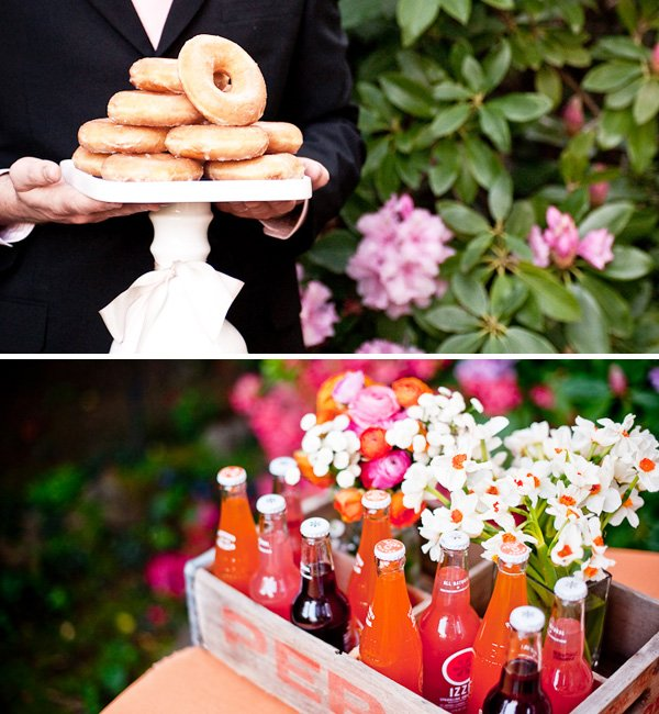 Pink and Orange Garden Wedding