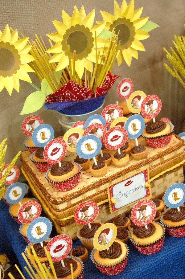 Toy Story Cupcakes and Dessert Table
