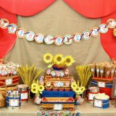 Toy Story Kindergarten Dessert Table