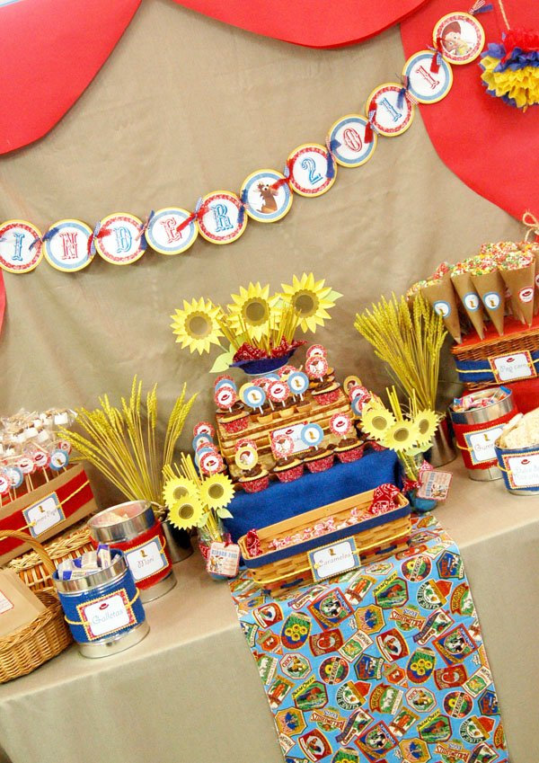 Toy Story Dessert Table
