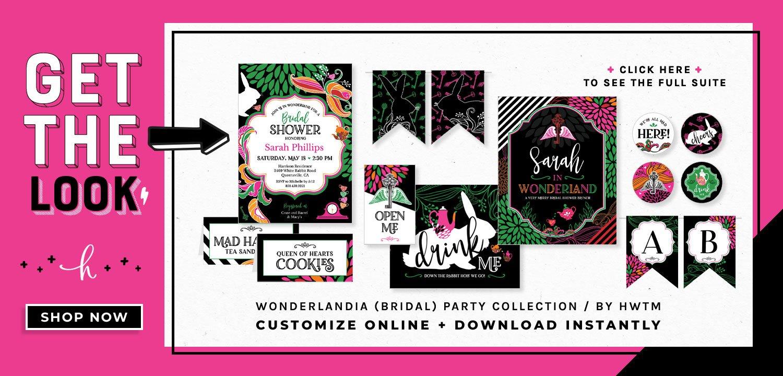Wonderlandia Printables
