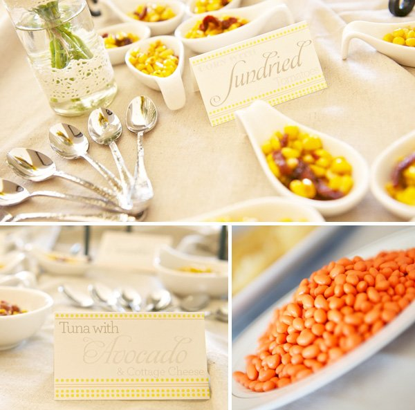 Yellow and Orange Baby Shower