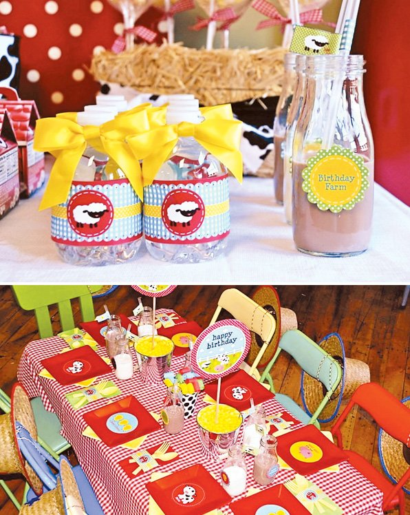 kids party ideas for boys budget barnyard birthday party ideas colorful
