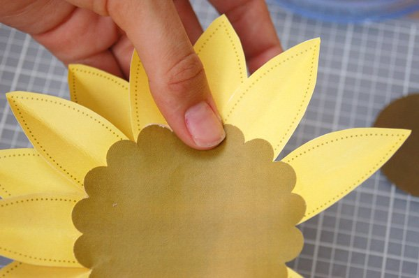 DIY Paper Sunflower Tutorial