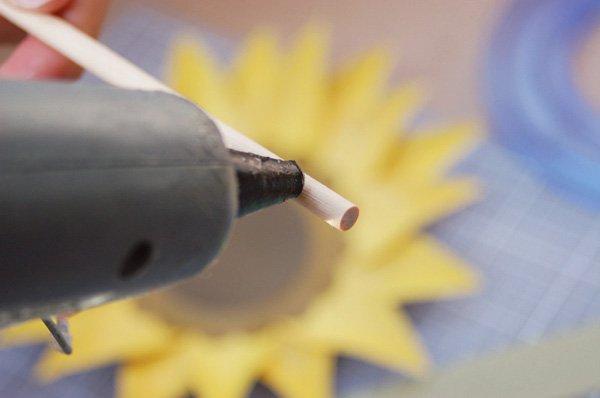 DIY Paper Sunflower Tutorial
