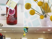 Creative Wedding Luncheon with IZZE